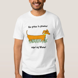 Perro de la salchicha de Frankfurt Camisas