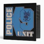 Perro de la unidad de la policía K9