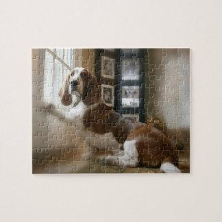 Perro de la ventana puzzle