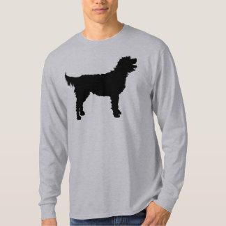 Perro de Labradoodle (en negro) Polera