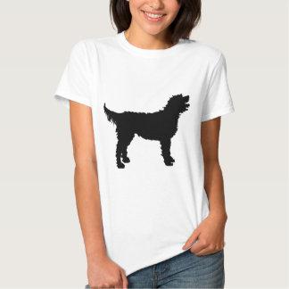 Perro de Labradoodle (en negro) Poleras