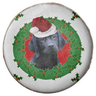 Perro de Labrador del navidad