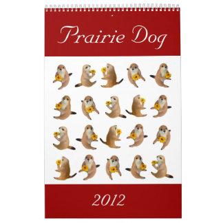 perro de las praderas, calendario