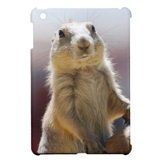 Perro de las praderas con los dientes de dólar iPad mini protector