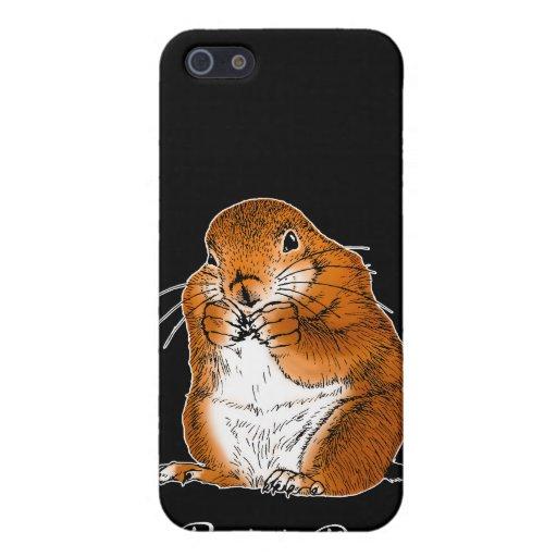 Perro de las praderas. iPad, casos del iPhohe iPhone 5 Protector