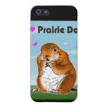 Perro de las praderas. iPad, casos del iPhohe iPhone 5 Funda