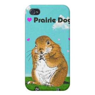 Perro de las praderas. iPad, casos del iPhohe iPhone 4/4S Carcasas