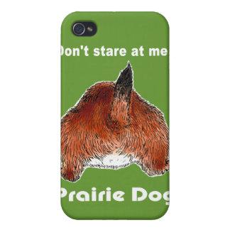 Perro de las praderas. iPad, casos del iPhohe iPhone 4 Carcasas