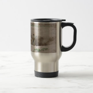 Perro de las praderas taza de café