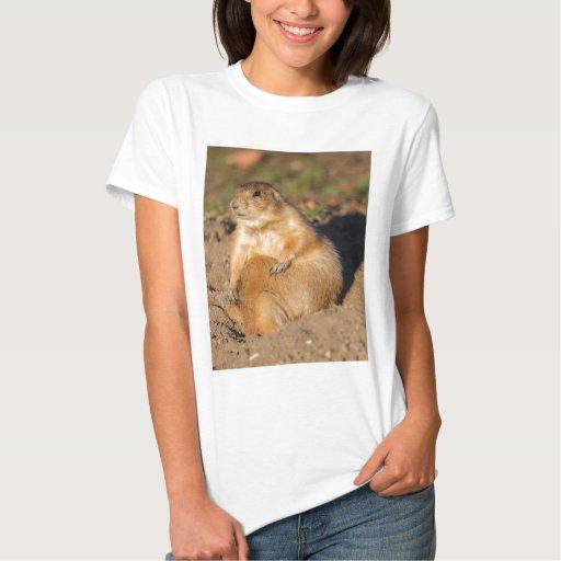 perro de las praderas tee shirt