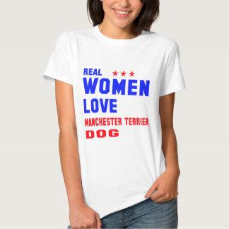 Perro de Manchester Terrier del amor de las Polera