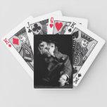 Perro de mar viejo barajas de cartas