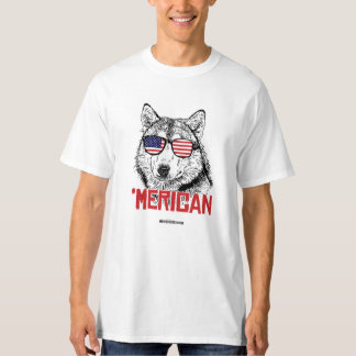'Perro de Merican - - humor de Politiclothes Poleras