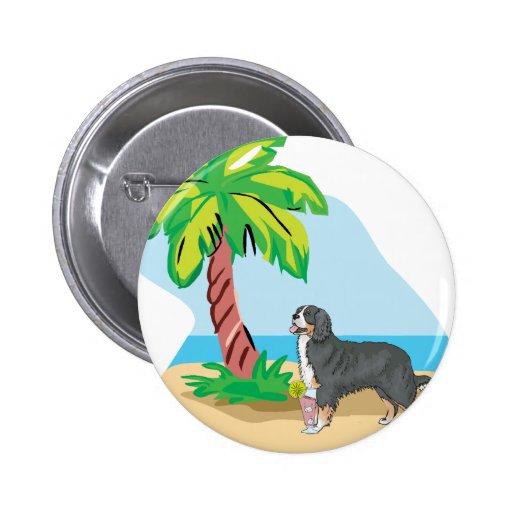 perro de montaña bernese tropical pin