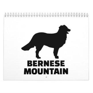 Perro de montaña de Bernese Calendarios De Pared