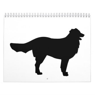 Perro de montaña de Bernese Calendario