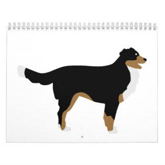 Perro de montaña de Bernese Calendarios