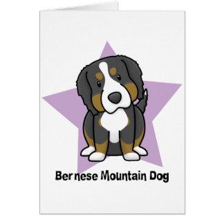 Perro de montaña de Bernese de la estrella de Kawa Tarjetas