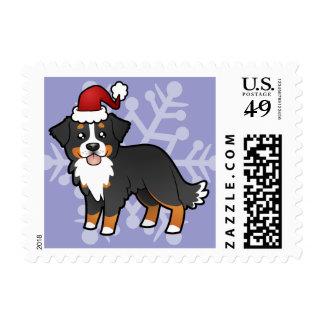 Perro de montaña de Bernese del navidad Sello Postal