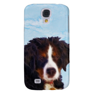Perro de montaña de Bernese Funda Para Galaxy S4