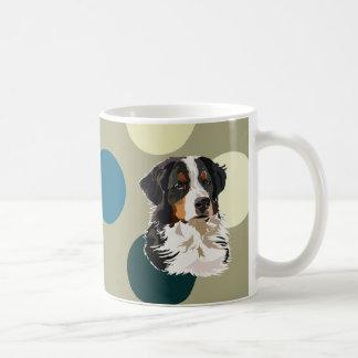 Perro de montaña de Bernese Tazas De Café