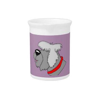 Perro de ovejas jarras para bebida