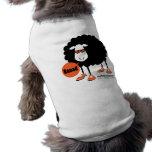 Perro de ovejas negras de Baaad Camisetas Mascota