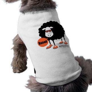 Perro de ovejas negras de Baaad Playera Sin Mangas Para Perro