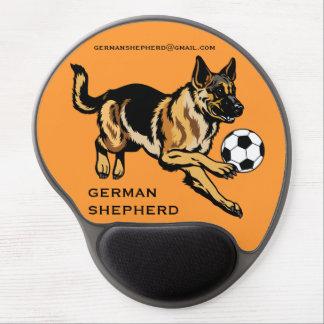 perro de pastor alemán alfombrilla gel