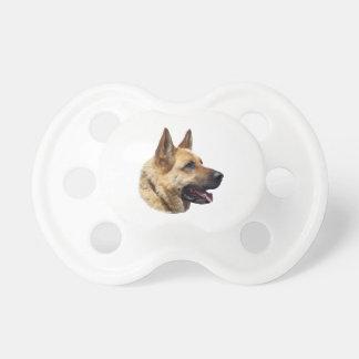 Perro de pastor alemán Alsatian personalizado Chupetes De Bebé