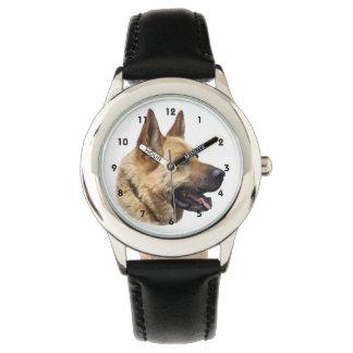 Perro de pastor alemán Alsatian Relojes De Mano