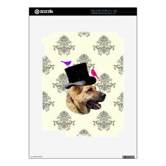 Perro de pastor alemán divertido iPad 2 skins