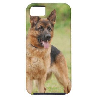 Perro de pastor alemán iPhone 5 coberturas