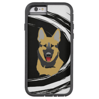 Perro de pastor alemán funda de iPhone 6 tough xtreme
