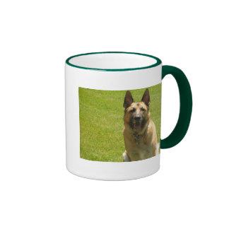 ¿Perro de pastor alemán - quiera jugar? Taza De Dos Colores
