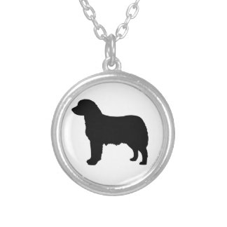 Perro de pastor australiano colgante redondo