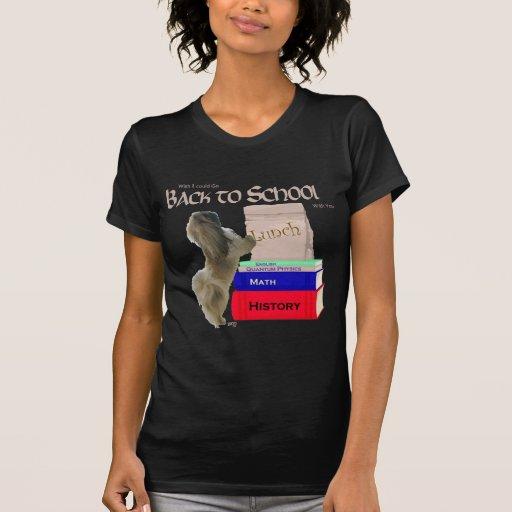 Perro de Pekingese de nuevo a escuela Camiseta