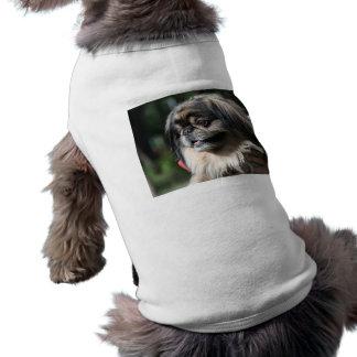 Perro de Pekingese Camisa De Perrito
