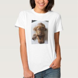 Perro de perrito adorable de Vizsla - camiseta del Polera