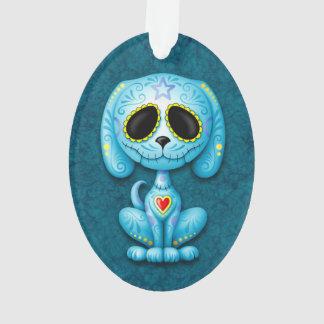 Perro de perrito azul del azúcar del zombi
