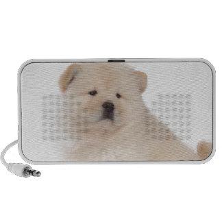 perro de perrito blanco lindo del perrito del perr iPod altavoz
