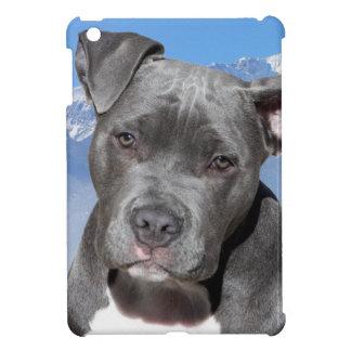 Perro de perrito de Pitbull Terrier del americano iPad Mini Cárcasas