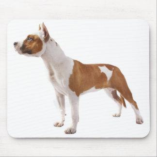 Perro de perrito de Staffordshire Terrier american Tapete De Ratón