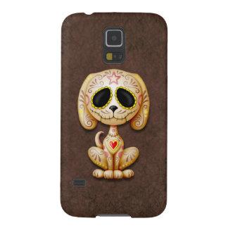 Perro de perrito del azúcar del zombi de Brown Funda De Galaxy S5