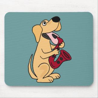 Perro de perrito del BB que juega el dibujo animad Tapete De Raton