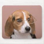 Perro de perrito del beagle del amor Mousepad Tapetes De Ratones