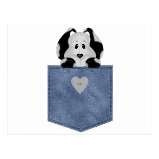 Perro de perrito del bolsillo de Jean Postal