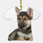 perro de perrito del perrito del pastor alemán ornatos