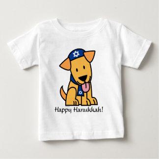 Perro de perrito judío del labrador retriever de playera de bebé