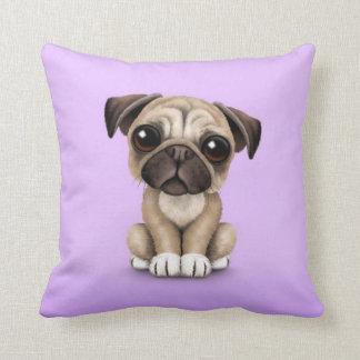 Perro de perrito lindo del barro amasado del bebé  almohada
